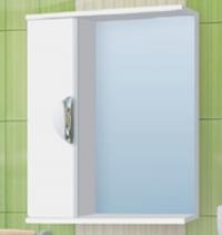 Зеркало-шкаф Vako Ника 83 см левый