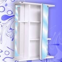 Зеркальный шкаф Андария Шторм 55 см правый