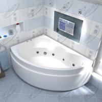 Ванна акриловая BAS Лагуна 170x110 Левая