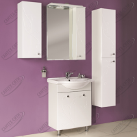 Зеркало-шкаф Акватон Лиана 65 см правый