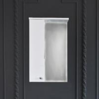 Зеркало-шкаф WL Оптима 50 см левый
