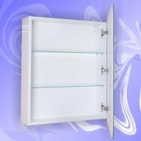 Зеркальный шкаф Андария Орион 50 см правый