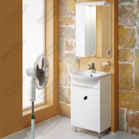 Зеркало-шкаф Акватон Панда 50 см левая