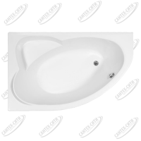 Ванна акриловая AQUANET SAREZO 160x100 Левая