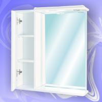 Зеркало-шкаф Андария Андреа 75 см левый
