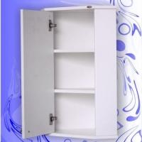 Зеркальный шкаф Андария Сильвер 36 см левый