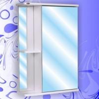 Зеркальный шкаф Андария Ника 50 см правый