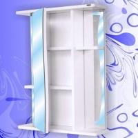 Зеркальный шкаф Андария Шторм 65 левый