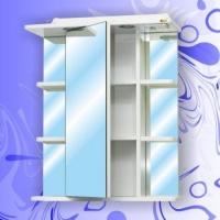Зеркальный шкаф Андария Вега 60 см левый