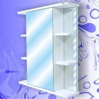 Зеркальный шкаф Андария Вега 65 см левый