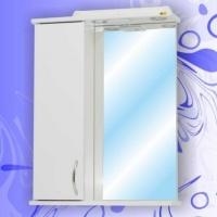 Зеркало-шкаф Андария Гамма 55 см левый