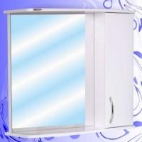 Зеркало-шкаф Андария Гамма 80 см правый