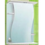 Зеркальный шкаф Vako Лилия 50 см правый