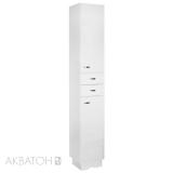 Шкаф-колонна Акватон Аттика белая