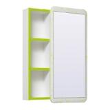 Зеркальный шкаф Runo Капри 55 см зеленый