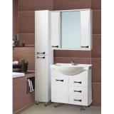Зеркало-шкаф Vako Бант 80 см
