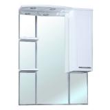 Зеркало-шкаф Bellezza Коралл 85 см правый