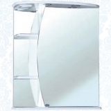 Зеркальный шкаф Bellezza Луна 60 см правый