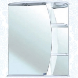 Зеркальный шкаф Bellezza Луна 60 см левый