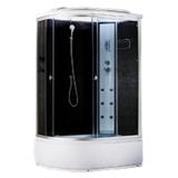 Душевая кабина AquaCubic 3106B Правая grey black