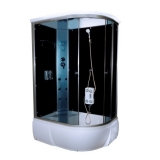 Душевая кабина AquaPulse 4106A Левая grey black