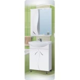 Зеркало-шкаф Vako Виктория 55 см левый
