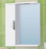 Зеркало-шкаф Vako Ника 50 см левый
