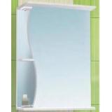Зеркальный шкаф Vako Волна 55 см правый