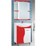 Зеркальный шкаф Vako Цветная Мадрид 55 см