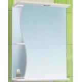Зеркальный шкаф Vako Волна 50 см правый