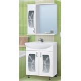 Зеркало-шкаф Vako Каламита 55 см левый