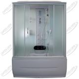 Душевая кабина AquaPulse 7808 fabric white