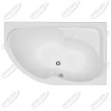 Ванна акриловая AQUANET ALLENTO 170x100 Правая