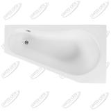 Ванна акриловая AQUANET BRIZE 160x90 Правая