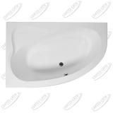 Ванна акриловая AQUANET LUNA 155x100 Левая