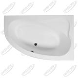 Ванна акриловая AQUANET LUNA 155x100 Правая