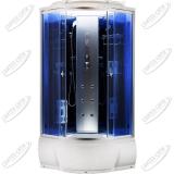 Душевая кабина AquaCubic 3302B blue mirror