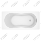 Ванна акриловая Cersanit Nike 170x70