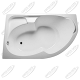 Ванна акриловая Marka One DIANA 170x105 Левая