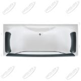 Ванна акриловая Marka One DOLCE VITA 180x80