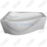 Ванна акриловая Marka One GRACIA 150x90 Левая