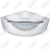 Ванна акриловая Marka One GRAND LUXE 155x155