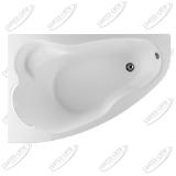 Ванна акриловая Marka One LIL 140x90 Левая
