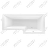 Ванна акриловая Marka One Linea 165x85 Правая