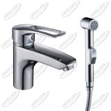 Смеситель с гигиеническим душем Rossinka T40-15