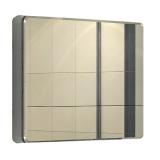Зеркальный шкаф Акватон Валенсия 90 см