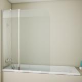 Штора на ванну Bravat Alfa 135x110