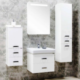 Зеркальный шкаф Акватон Америна 60 см правая