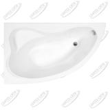 Ванна акриловая AQUANET ATLANTA 150x90 Левая