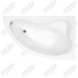 Ванна акриловая AQUANET ATLANTA 160x90 Правая